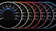 มาตรวัดเรืองแสงแบบปรับเปลี่ยนได้ 7 สี - 10