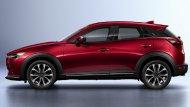 Mazda CX-3 Minorchange กาบข้าง ปรับตำแหน่งเส้นแถบโครเมี่ยม - 1
