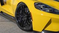 สำหรับยางนั้น จะมีคุณภาพสูงจะใช้เป็นของแบรนด์ Michelin การเพ้นท์สีด้วยสีเหลืองสดใสให้รถแบบ Ford GT - 7
