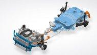 ระบบขับเคลื่อนไฟฟ้าของ HYUNDAI IONIQ Electric ได้ถูกออกแบบให้ชิ้นส่วนใช้งานร่วมกันอย่างลงตัว เพื่อเพิ่มประสิทธิภาพในขับขี่ที่ยอดเยี่ยมและระยะทางวิ่งที่ไกลกว่า - 12