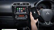 ระบบ Apple CarPlay เพียงเชื่อมต่อ iPhone ในรถยนต์ NEW Mitsubishi Mirage 2018 ก็สามารถรับสายโทรเข้า-โทรออก   และรับ-ส่งข้อความ พร้อมฟังเพลง ได้อย่างง่ายดาย (เฉพาะรุ่น GLS-LTD) - 13