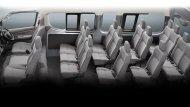 NISSAN URVAN 16 ที่นั่ง ภายในห้องโดยสารกว้างขวาง เบาะนั่งมีขนาดใหญ่ ปรับระดับในการนั่งได้อย่างง่ายดาย - 5