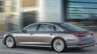 Audi A8 L 55 TFSI ถูกติดตั้งเครื่องยนต์เบนซิน Mild Hybrid แบบวี 6 เทอร์โบชาร์จ ความจุ 3.0 ลิตร ให้กำลังสูงสุด 340 แรงม้า ที่ 5,000 - 6,400 รอบต่อนาที แรงบิดสูงสุด 500 นิวตัน-เมตร ที่ 1,370 - 4,500 รอบต่อนาที ส่งกำลังด้วยเกียร์อัตโนมัติ 8 สปีด Tiptron - 7