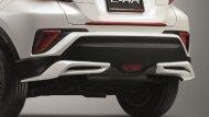 ชุดสปอยเลอร์กันชนหลัง ผลิตจากวัสดุเกรดพิเศษ TSOP (Toyota super orifin plastic) ซึ่งเป็นวัสดุตัวเดียวกับที่ทำกันชนหน้าของรถยนต์ ทำให้ชิ้นงานที่ได้มีน้ำหนักเบา ไม่ทำสี ราคา 3,500 บาท สีดำและสีเงิน ราคา 5,000 บาท   - 4