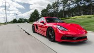 เส้นสายการออกแบบของ Porsche Cayman rival - 6