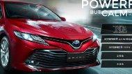 All-new Toyota Camry 2019 มาพร้อมกับเครื่องยนต์เบนซิน  2.0 G , เครื่องยนต์เบนซิน  2.5 G และเครื่องยนต์ HYBRID - 10