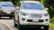 Nissan Terra 2019 เวอร์ชั่นไทยมีให้เลือกด้วยกันทั้งหมด 3 รุ่นย่อย  2.3 V 2WD 7AT 2.3 VL 2WD 7AT 2.3 VL 4WD 7AT - 3