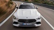 เริ่มต้นที่รุ่น Mercedes-AMG GT 53 ซึ่งเป็นเครื่องยนต์เบนซิน 6 สูบแถวเรียง ความจุ 3.0 ลิตร พร้อมเทอร์โบไฟฟ้า ให้กำลังสูงสุด 429 แรงม้า แรงบิดสูงสุด 520 นิวตัน-เมตร พร้อมระบบ EQ Boost ที่เพิ่มกำลังสูงสุดอีก 21 แรงม้า แรงบิดสูงสุดอีก 250 นิวตัน-เมตร - 5