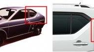 ช่องเสา C (Front Coupe) ของ ALL NEW SUZUKI IGNIS มีลักษณะโดดเด่นซึ่งได้รับอิทธิพลมาจาก Fronte Coupe รถสปอร์ตขนาดเล็กรุ่นแรกของญี่ปุ่น - 2