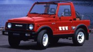 ปี 1984  SUZUKI SJ413 รถ 4X4 เครื่องยนต์ 1.4 ลิตร กระบอกสูบขนาด 1.3 ลิตร  66 แรงม้า ระบบเกียร์ธรรมดา 5 สปีด - 5