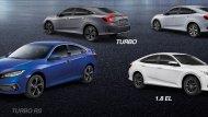 Honda Civic 2019 New Minor Changes มีให้เลือกทั้งหมด 4 รุ่นย่อย - 6