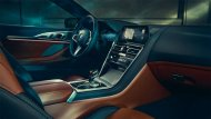 ภายในห้องโดยสารของ BMW 8 Series Coupé ออกแบบและตกแต่งด้วยวัสดุคุณภาพระดับพรีเมียม - 4