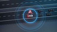 Mercedes-Benz E-Class 2019 เอาใจผู้ขับขี่ด้วยการรายงานข้อมูลการจราจรแบบไดนามิกที่ให้ข้อมูลการจราจรตามเวลาเหตุการณ์จริงที่เกิดขึ้นบนท้องถนน โดยการเชื่อมต่อด้วยฮอตสปอต WLAN / WiFi ซึ่งสามารถเชื่อต่อได้ทั้ง Android Auto และ Apple CarPlayTM - 9