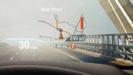 จอแสดงผล Head-up Display บริเวณกระจกด้านหน้าผู้ขับขี่ แสดงผลข้อมูลการขับขี่ และคำแนะนำในการเดินทาง - 9