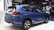 Subaru Forester 2019 ได้รับการติดตั้งฝาท้ายเปิด-ปิดได้ด้วยระบบไฟฟ้าพร้อมไฟท้ายรูปทรงแปลกตาลักษณะคล้ายคลึงกับก้ามปูเป็นแนวยาวไปจรดกับฝาปิดท้าย ติดตั้งดิฟฟิวเซอร์สีเงินและสปอยเลอร์หลังทรงสปอร์ต - 4