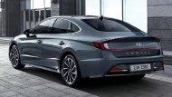 All-new Hyundai Sonata 2019 โฉมใหม่ ถูกออกแบบให้มีลักษณะคล้ายกับรถคูเป้ 4 ประตู  - 4