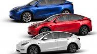 All-new Tesla Model Y 2020 จะมีให้เลือกทั้งหมด 4 รุ่นย่อย โดยรุ่นพื้นฐานสุด ถูกสุด ราคาเริ่มต้น 39,000 ดอลลาร์ หรือราว 1.2 ล้านบาท วิ่งได้ระยะทางไกล 370 กม./ชาร์จ อาจมาถึงในปี 2021 เพราะต้องรอให้ 3 รุ่นย่อยที่เหลือ (แพงกว่า) ข - 6