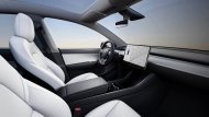 ภายในเรียบโล่ง สไตล์มินิมอล ยังคงเป็นสิ่งที่จะได้พบเห็นใน All-new Tesla Model Y 2020 แบบมาตรฐาน สงบง่าย ไร้อุปกรณ์ ความหรูหราและเครื่องประดับประดารกรุงรัง - 4