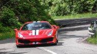 โดย Ferrari 488 Pista นั้นจะมีน้ำหนักตัวเบากว่า Ferrari 488 GTB ถึง 90 กิโลกรัม สร้างแรงกดลงบนตัวถังขณะวิ่งด้วยความเร็วสูงเหนือกว่า 20 เปอร์เซ็นต์  - 7