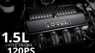 Honda BR-V 2019 ติดตั้งขุมพลังเครื่องยนต์ SOHC 4 สูบ 16 วาล์ว i-VTEC ขนาด 1.5 ลิตร ให้กำลังสูงสุด 117 แรงม้า ที่ 6,000 รอบ/นาที แรงบิดสูงสุด 146 นิวตัน-เมตร ที่ 4,700 รอบ/นาที  - 8
