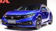 Honda Civic 2019 ได้รับการปรับโฉมให้สปอร์ตมากยิ่งขึ้นโดยในรุ่นท็อปสุดอย่าง Turbo RS ก็ได้รับการติดตั้งฟังก์ชั่นความปลอดภัย Honda Sensing เข้ามาให้อีกด้วย  - 3