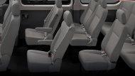 ภายในห้องโดยสาร NEW MG V80 กว้างขวาง นั่งสบายทั้ง 11 ที่นั่ง ผู้โดยสารสามารถเดินเข้าออกทุกที่นั่งได้อย่างสะดวก - 2