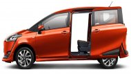 Toyota Sienta เพิ่มความสะดวกสบายให้แก่ผู้ขับขี่ด้วยประตูห้องโดยสารทั้ง 2 ด้าน สไลด์เปิด-ปิดได้ด้วยระบบไฟฟ้าพร้อมเซ็นเซอร์ตรวจจับการเคลื่อนไหวขณะเปิด-ปิดประตู รวมถึงระบบเปิดประตูอัจฉริยะ      - 4