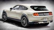 โดยภาพเรนเดอร์หลาย ๆ ภาพ ถูกตีความจากภาพทีเซอร์อย่างเป็นทางการของ Ford ที่ปล่อยมาแค่ 2 ภาพด้านหลังและด้านหน้า ผสมกับ Ford Mustang โฉมปัจจุบัน - 2