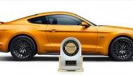 รางวัลรถสปอร์ตขนาดกลางที่มีคุณภาพมากที่สุดในปี 2018 สำหรับ Ford Mustang BULLITT 2019 - 2