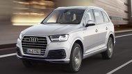 ภายนอก Audi Q7 ได้รับการดีไซน์ให้มีความยาวตัวถังมากกว่ารถในเซกเมนต์เดียวกันถึง 5,052 มิลลิเมตร กว้าง 1,968 มิลลิเมตร สูง 1,741 มิลลิเมตร โดยมีระยะฐานล้อยาว 2,994 มิลลิเมตร  - 7