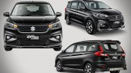 All-new Suzuki Ertiga Sport 2019  มากับชุดแต่งรอบคัน รวม 7 รายการ และเพิ่มอุปกรณ์มาตรฐานให้อีก 2 รายการ กระจังหน้าลายใหม่ สเกิร์ตชายกันชนหน้า ไฟ DRL มุมกันชน ล้ออัลลอยสีทู-โทน  - 9
