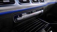 Mercedes-Benz GLE โฉมใหม่ 2019 มาพร้อมกับช่องปรับอากาศที่ถูกนำมาติดตั้งไว้จำนวน 4 ช่องเรียงกันตกแต่งด้วยวัสดุสีเงินเพิ่มความสะดุดตาได้เป็นอย่างดี - 9