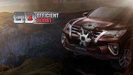 New Toyota Fortuner 2.4 G มาพร้อมกับเครื่องยนต์ GD Efficient Boost  ลดการสูญเสียความร้อน และแรงเสียดทานของเครื่องยนต์ ให้แรงบิดสูงสุดในรอบกว้าง Flat Torque พร้อมประหยัดเป็นเยี่ยมในทุกการเดินทาง - 13