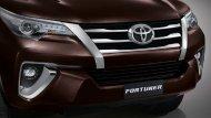 กระจังหน้าและกันชนดีไซน์สปอร์ต สร้างเอกลักษณ์เฉพาะตัวให้กับ New Toyota Fortuner 2.4 G ด้วยลายเส้นหน้าของกระจังหน้าที่สอดรับกับกันชนหน้าได้อย่างลงตัว - 4