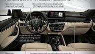 ภายในห้องโดยสาร ของ All New BMW X1 คันนี้ มาด้วยไฮไลท์ที่เริดหรูทันสมัยด้วยการแต่งภายในห้องโดยสารมี 3 แบบตามการแต่งภายนอกทั้ง xLine, Sport Line และ M Sport พร้อมด้วย จอขนาด 6.5 นิ้วเป็นอุปกรณ์มาตรฐาน โดยที่มีจอขนาด 8.8 นิ้วController  - 5
