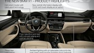 BMW X1 2019 ได้รับการตกแต่งภายในอย่างประณีตด้วยเฉดสีทูโทนดำครีม คอนโซลหน้าตกแต่งด้วยสีดำ พวงมาลัยมัลติฟังก์ชั่นแบบ 3 ก้าน พร้อมปุ่มควบคุมเครื่องเสียงที่พวงมาลัย ระบบปรับอากาศแบบอัตโนมัติ  - 9