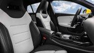 ภายในภายในห้องโดยสารของ Mercedes-AMG CLA 35 Shooting Brake เน้นการใช้หนังสีทูโทนพร้อมกับใช้สีดำเงาและสีเมทัลลิกในการแต่ง - 7