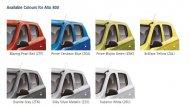 SUZUKI ALTO 800 มีสีตัวถังให้เลือกมากถึง 7 สี - 4