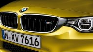 MBW M4 Coupe ออกแบบตามหลักอากาศพลศาสตร์ ด้วยกระจังหน้าทรงไตคู่ M ซึ่งเป็นช่องรับลมขนาดใหญ่ช่วยถ่ายเทความร้อนออกจากเครื่องยนต์ได้อย่างดีเยี่ยม และก็ถือว่าเป็นอีกหนึ่งเอกลักษณ์ของสายพันธุ์ BMW  - 4