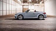 โดยดีไซน์ Audi TT ตัวถังนั้นยังคงเอกลักษณ์ ไม่เปลี่ยนแปลงตั้งแต่เปิดตัวเมื่อปี 1998 พาร์ตพิเศษสำหรับรุ่นฉลอง 20 ปี  - 4