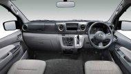 ภายใน Nissan NV350 Urvan 2019 ได้รับการออกแบบอย่างประณีตผ่านเฉดสีตกแต่งภายในโทนสีดำ กระจกมองภาพด้านหลังเป็นแบบปรับลดแสงสะท้อน  - 1