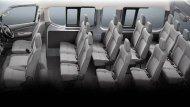 เบาะนั่งภายในหุ้มด้วยผ้าสีเทา เบาะนั่งด้านหน้า 3 ที่นั่ง เบาะนั่งด้านคนขับสามารถปรับเอนและเลื่อนได้ โดยเบาะนั่งแถวที่ 1/2/3 แบบ 3 ที่นั่งสามารถที่จะปรับเอนได้ ส่วนเบาะนั่งแถวที่ 4 แบบ 4 ที่นั่งปรับเอนได้ - 9