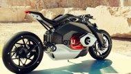 BMW Motorrad Vision DC Roadste มีดีไซน์ที่พยายามพรีเซ็นต์สมรรถนะด้วยสัดส่วนและดีเทลเพื่อช่วยให้ตัวรถดูมี Dynamic ทันสมัย สมเป็นบิ๊กไบค์ยุคใหม่ของ BMW Motorrad ทั้งการเล่นสี เครื่องประกอบต่าง ๆ ที่ค่อนข้างมินิมอล - 2