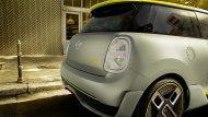 แบบจำลองด้านท้่ายของ MINI Cooper S E 2020 - 4