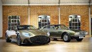 Aston Martin DBS Superleggera Special Edition รุ่่นนี้ได้แรงบันดาลใจจาก Aston Martin DBS ปี 1969 ในภาพยนตร์ พยัคฆ์ร้าย 007 ชุดที่ 6 On Her Majesty's Secret Service กับบทบาทพาหนะคู่ใจเจมส์ บอนด์ 007 - 3