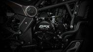 GPX MAD 300 ใหม่ จะใช้เครื่องยนต์ขนาด 300 ซี.ซี. ใหญ่สุดเท่าที่ GPX เคยมี ซึ่งเป็นแบบลูกสูบเดี่ยว DOHC จ่ายเชื้อเพลิงด้วยหัวฉีด EFI ระบายความร้อนด้วยน้ำ จับคู่กับเกียร์ 6 สปีด ให้กำลังสูงสุด 25.46 แรงม้า ที่ 8,500 รอบ/นาที - 12