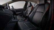Sport Leather Seats เบาะหนังคู่หน้าทรงสปอร์ตดีไซน์สีดำตกแต่งสีแดง - 5