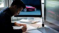 ทีมวิศกรเผยภาพขั้นตอนการร่างภาพของ  BMW Concept 4 - 9