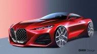 ร่างกราฟฟิคของ  BMW Concept 4  บ่องบอกถึงความสปอร์ตล้ำสมัย  - 11