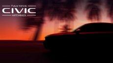 Honda Civic Hatchback 2022 เตรียมเปิดตัว 23 มิ.ย. 64